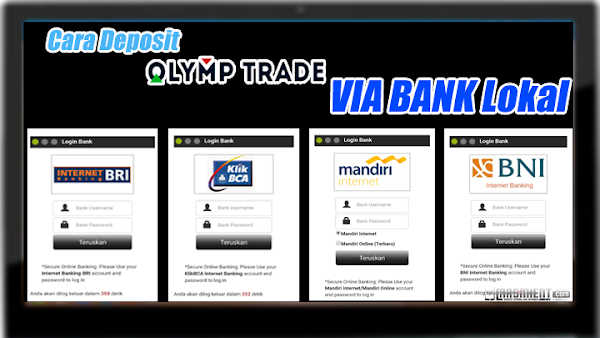 Cara Deposit Olymptrade Menggunakan Bank Lokal Indonesia