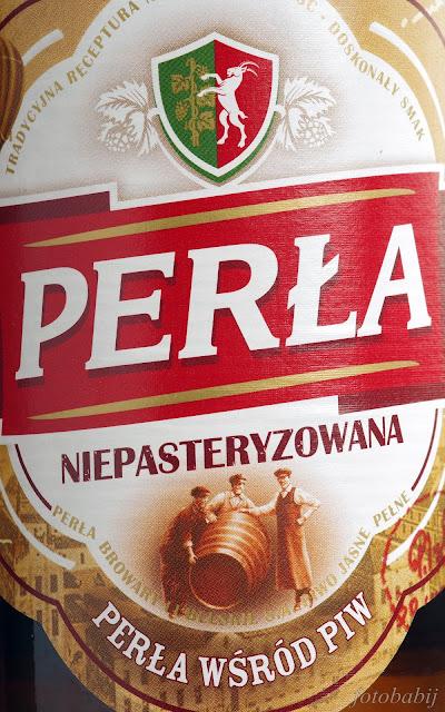 Perła Niepasteryzowana, butelka 0,5l.