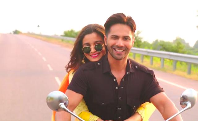 Badrinath Ki Dulhania, Varun Dhawan, Alia Bhatt, Bike Ride, Getting cozy