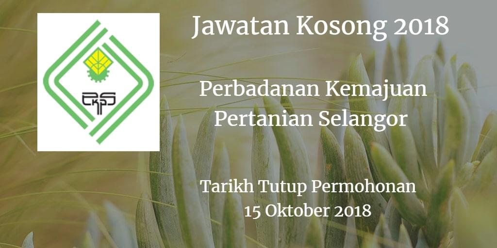 Jawatan Kosong PKPS 15 Oktober 2018