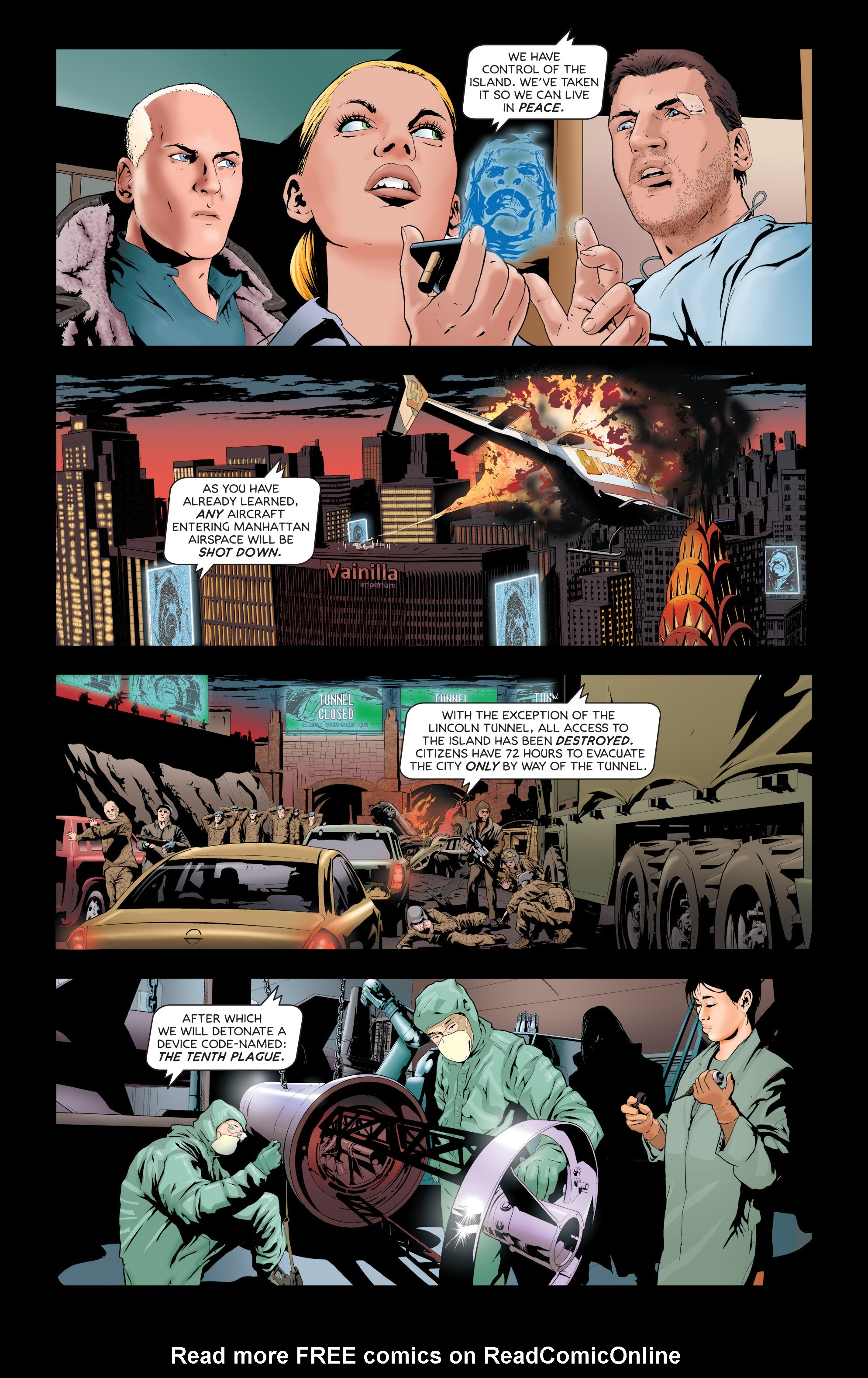 Read online Failsafe comic -  Issue #3 - 9