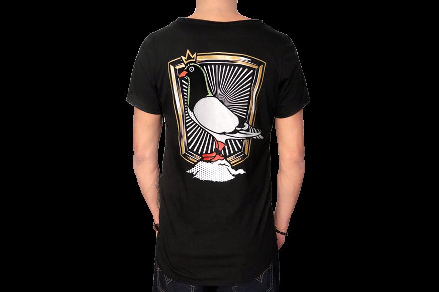 Tienda: Playera rey palomo negro de luisito comunica