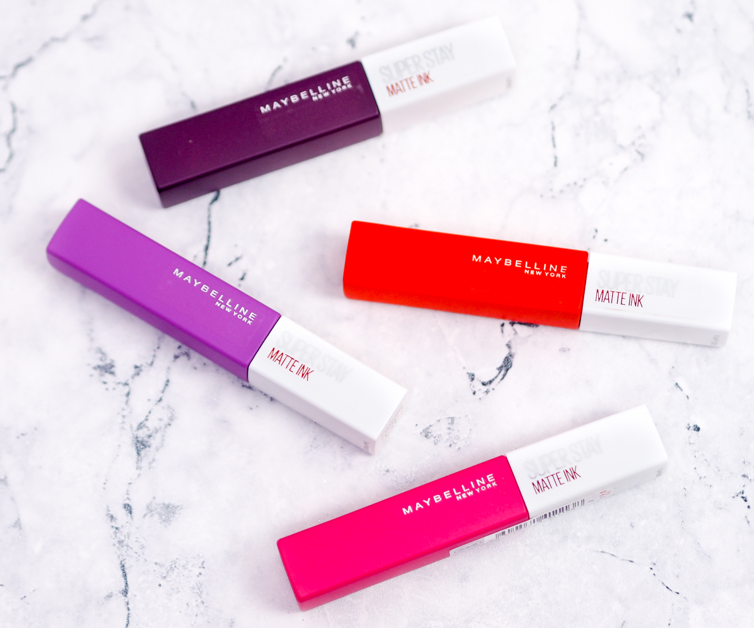 Maybelline SuperStay Matte Ink Liquid Lipstick Review - Curated By Kirstie is a Leicester Beauty, Fragrance and Gluten Free Blogger.