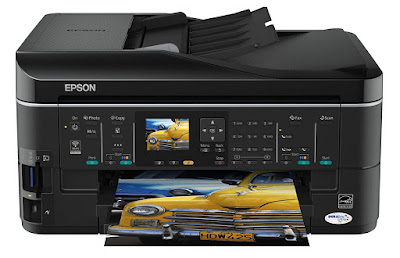 dpi scanner ensures copies in addition to photos retain every master copy especial Epson Stylus SX620FW Driver Downloads