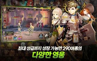 GOD: Guardian of Destiny (KR) Apk v1.0.26 Mod (Enemy Low Attack)
