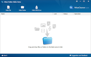 wise folder hiden screenshot