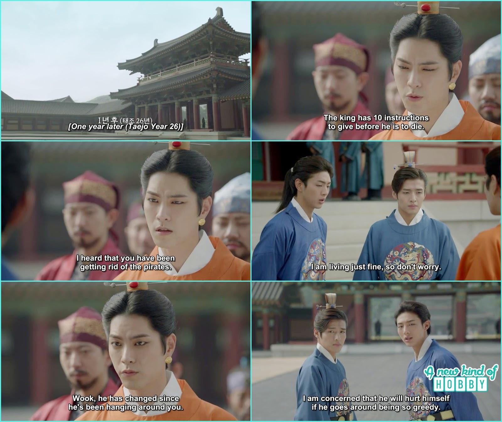 Prince Wang Soo sent to Khitan - Scarlet Heart Ryeo - Episode 12