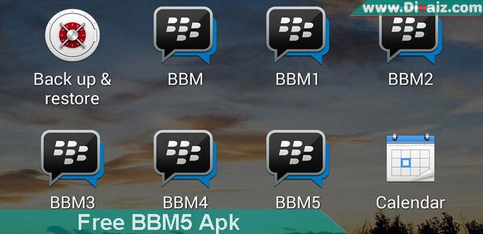 Download BBM5 Apk Android Terbaru 2019