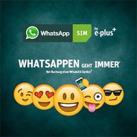 WhatsApp , whatsappen geht immer