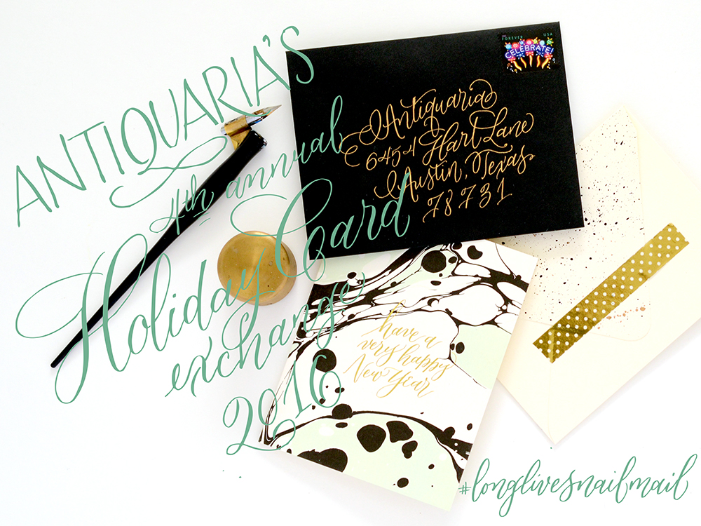 Antiquaria: 2016 Holiday Card Exchange!