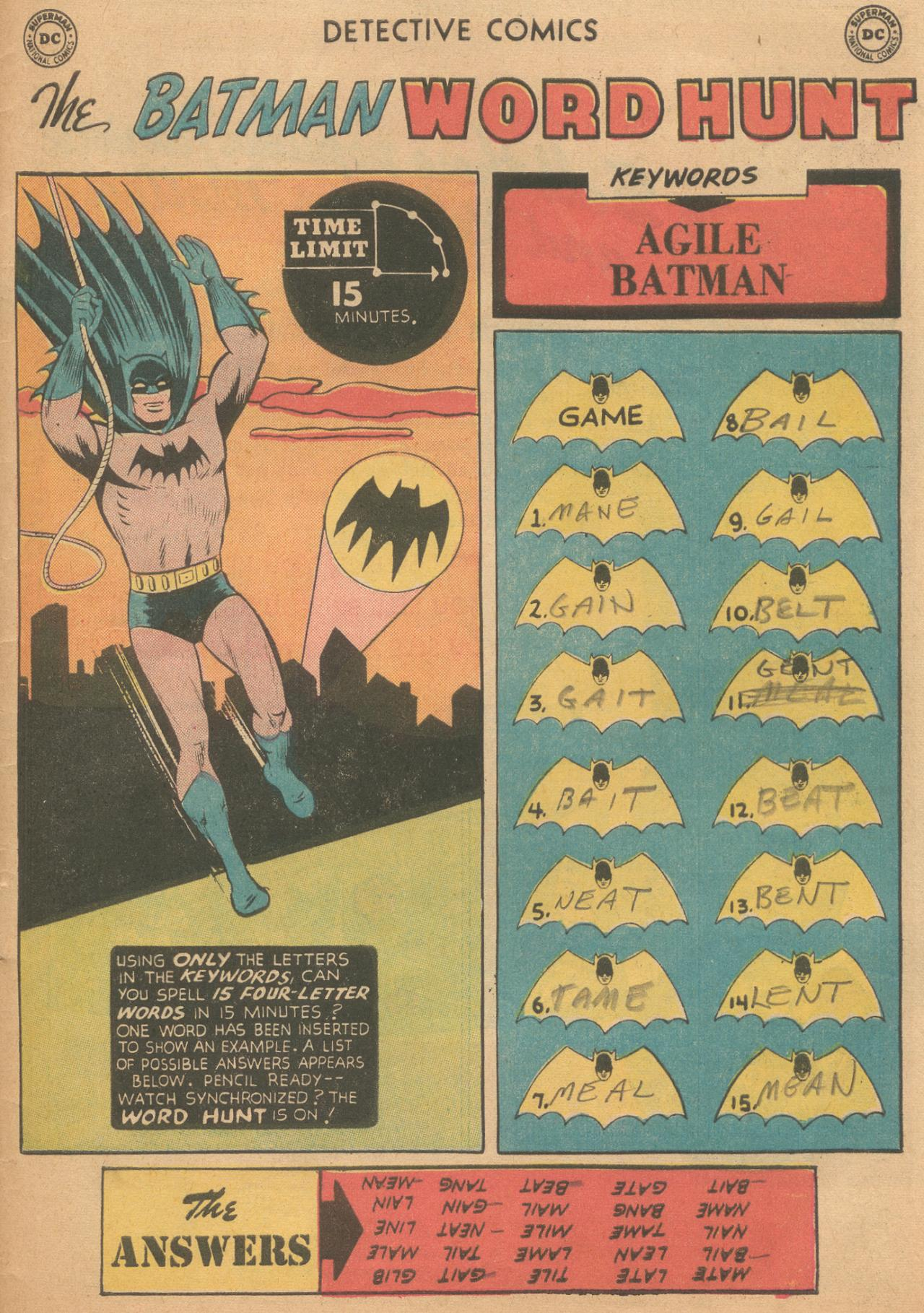 Read online Detective Comics (1937) comic -  Issue #261 - 33