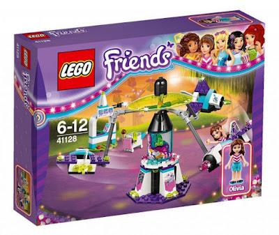 TOYS : JUGUETES - LEGO Friends  41128 Parque de Atracciones : Viaje Espacial  Amusement Park : Space Rider  Producto Oficial 2016 | Piezas: 195 | Edad: 6-12 ños  Comprar en Amazon España & buy Amazon USA