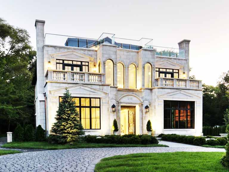 desain rumah gaya eropa terbaru modern dan klasik