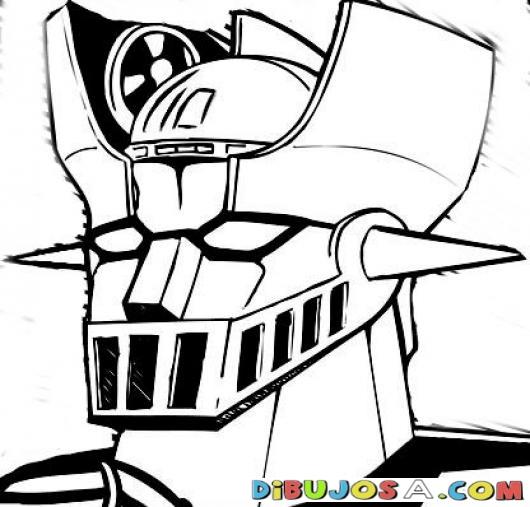 Imagenes Para Colorear De Mazinger Z Dibujos De