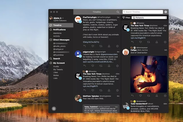 A bunch of Tweetbot options now not add preparation for the Twitter API modification