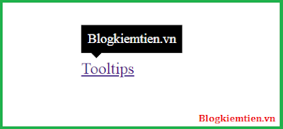 Tooltip Css