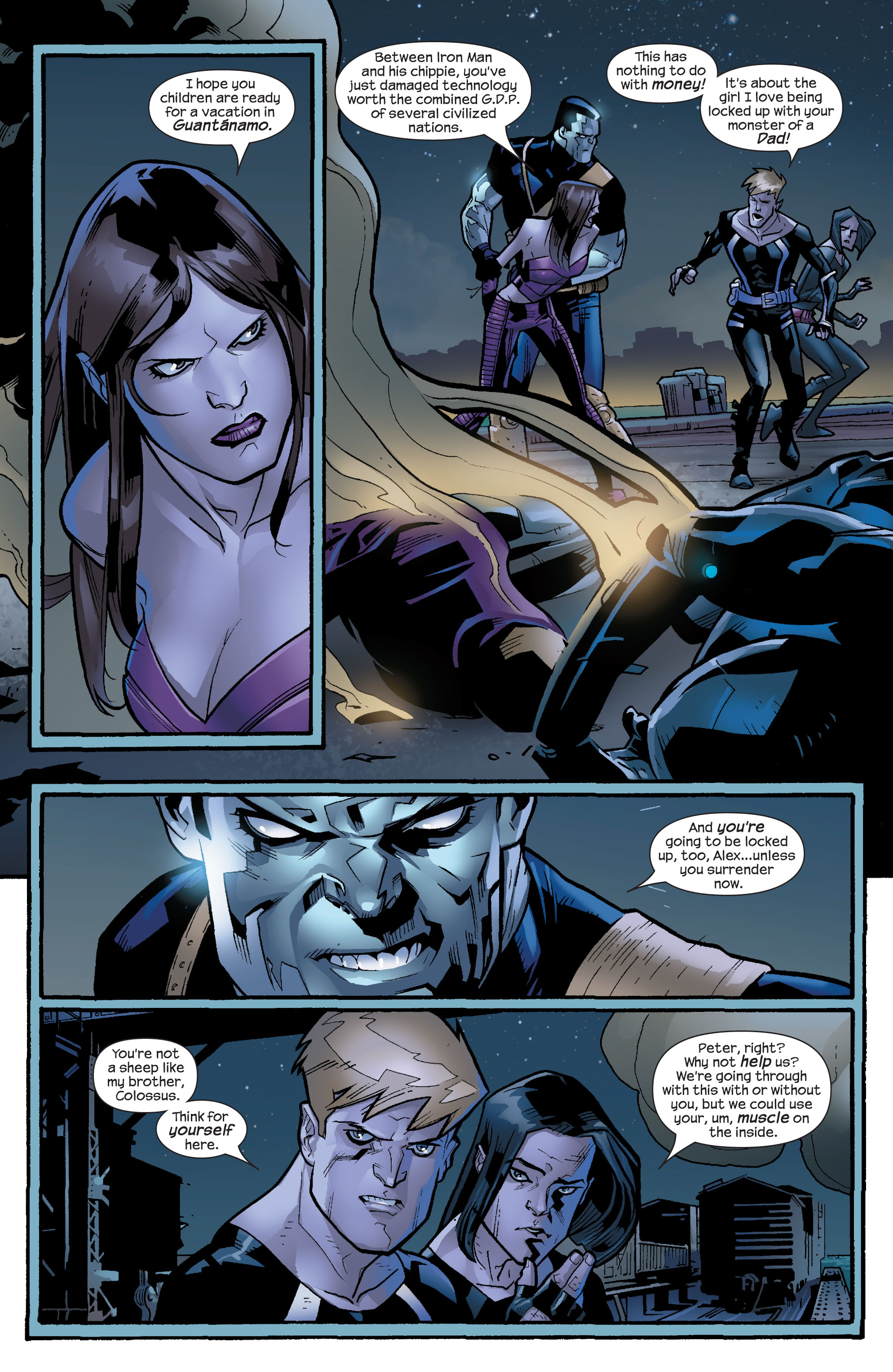 Read online Ultimate X-Men comic -  Issue #64 - 18
