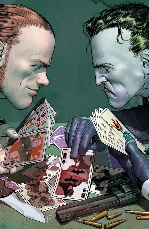 joker vs riddler comic