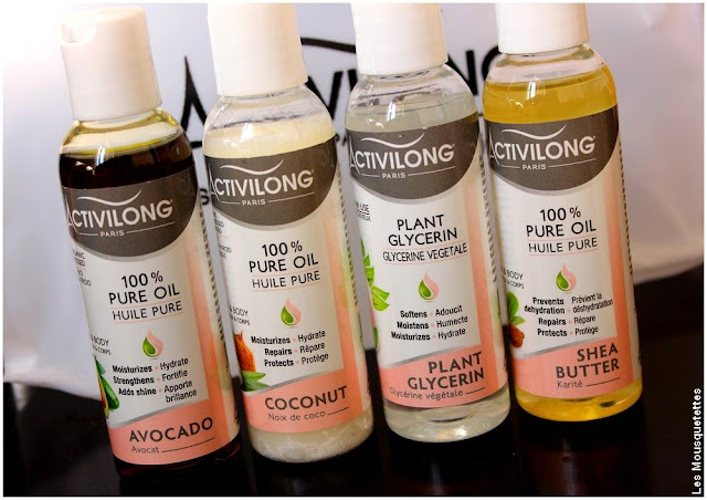 Gamme Les extraits naturels Activilong - Huile d'avocat, de coco, glycérine et oléine de karité - Blog beauté