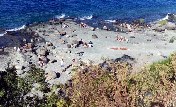 Praias em Bariloche