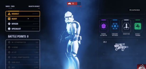 Classes And Special Characters Guide SW Battlefront 2