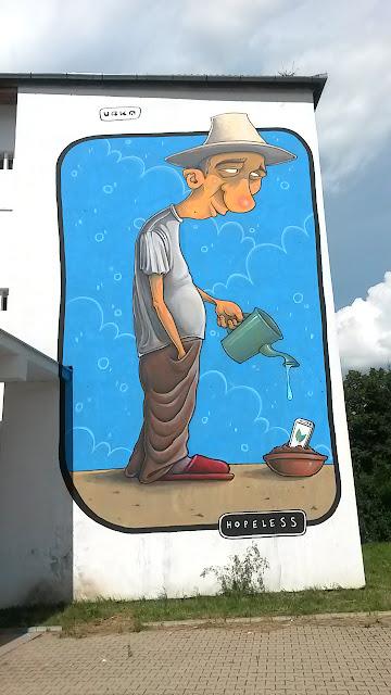 urka street art romania sibiu