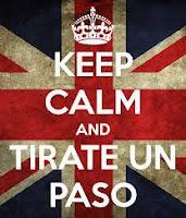 Keep calm and tirate un paso