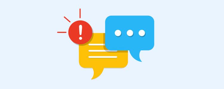 Mensagens e notificações no sistema de cobrança CEDRUS