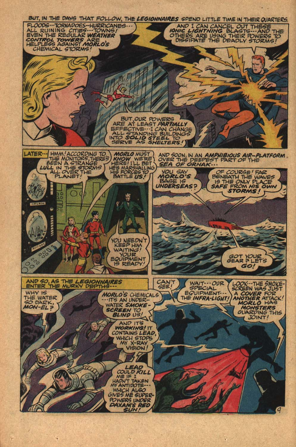 Read online Adventure Comics (1938) comic -  Issue #363 - 12