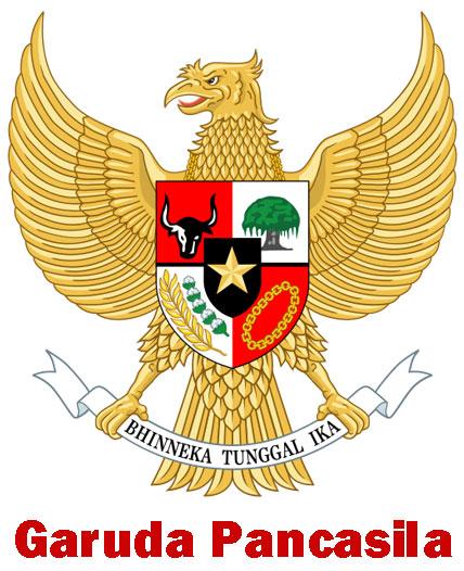 Gambar burung Garuda Pancasila
