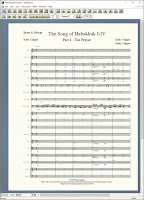 The Song of Habakkuk Parts 1-4
