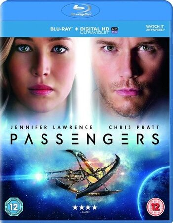 Passengers (2016) Dual Audio Hindi 720p BluRay x264 1GB ESubs Movie Download