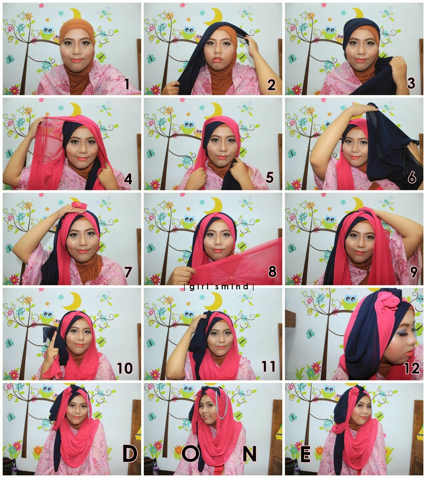 Tutorial Hijab Mei 2016