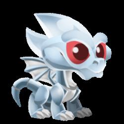 Dragon Chrome apparence de l'enfant