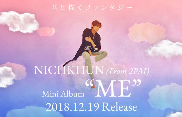 nichkhun 2pm debut japon Me
