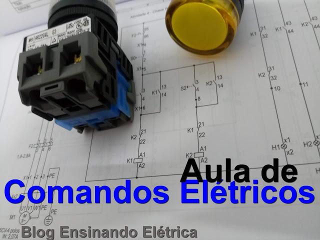 Aprender Comandos Elétricos - Partida Direta Simples