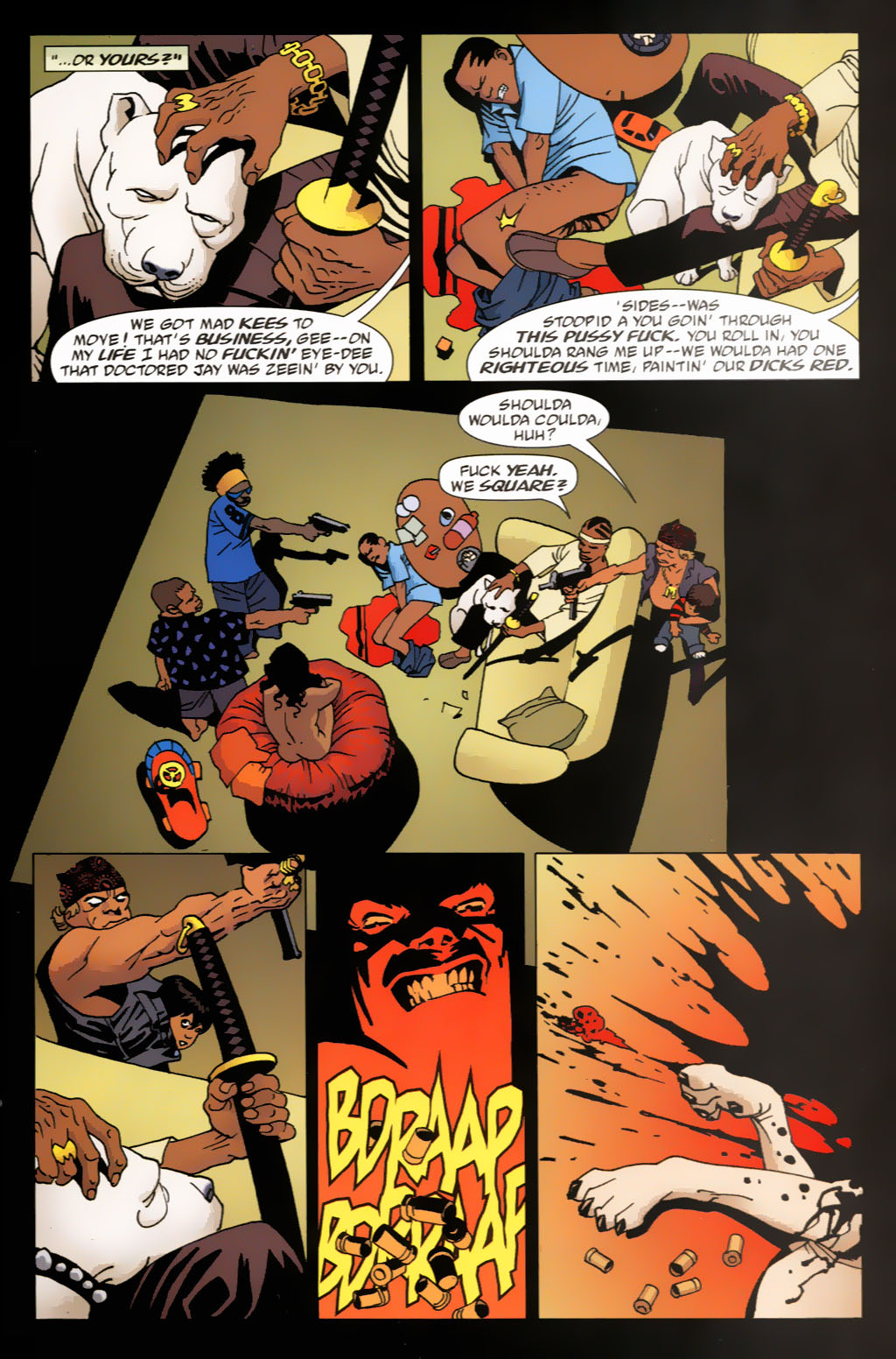 Read online 100 Bullets comic -  Issue #63 - 19