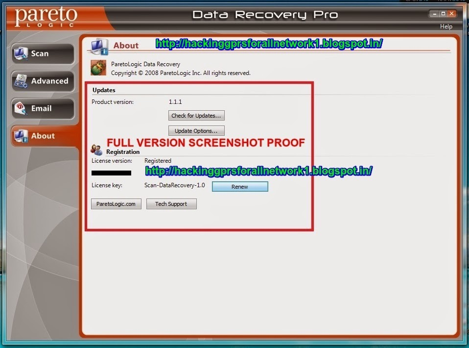 free data recovery license key