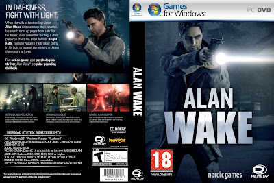 Alan Wake PC DVD Capa