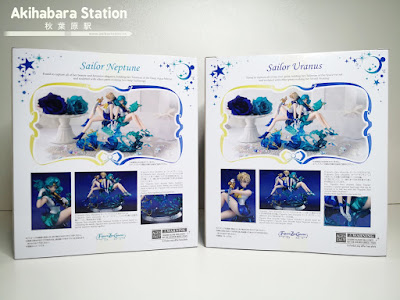 Figuras: Review de las Figuarts Zero Chouette Sailor Uranus y Sailor Neptune de Bishoujo Senshi Sailor Moon - Tamashii Nations