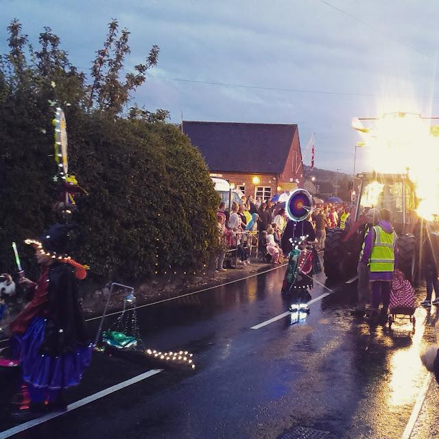 8pm - Sturminster Newton carnival procession