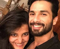 shahid & sana kapoor photo