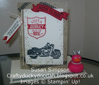 Stampin' Up! Susan Simpson Independent Stampin' Up! Demonstrator, Craftyduckydoodah!, One Wild Ride,