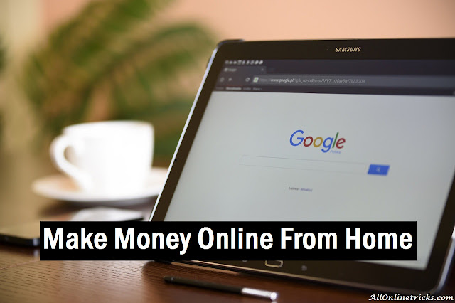 5 Ways to Make Money Online From Home Without Investment