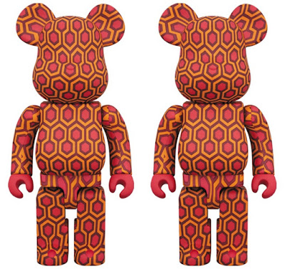 The Shining Overlook Hotel Carpet Be@rbrick Vinyl Figures by Medicom Toy
