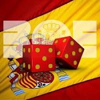 Bandera de España y dados