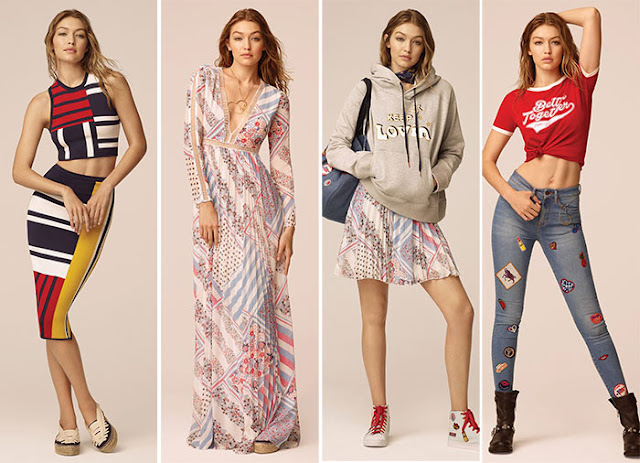 Tommy x Gigi Spring 2017 Collection