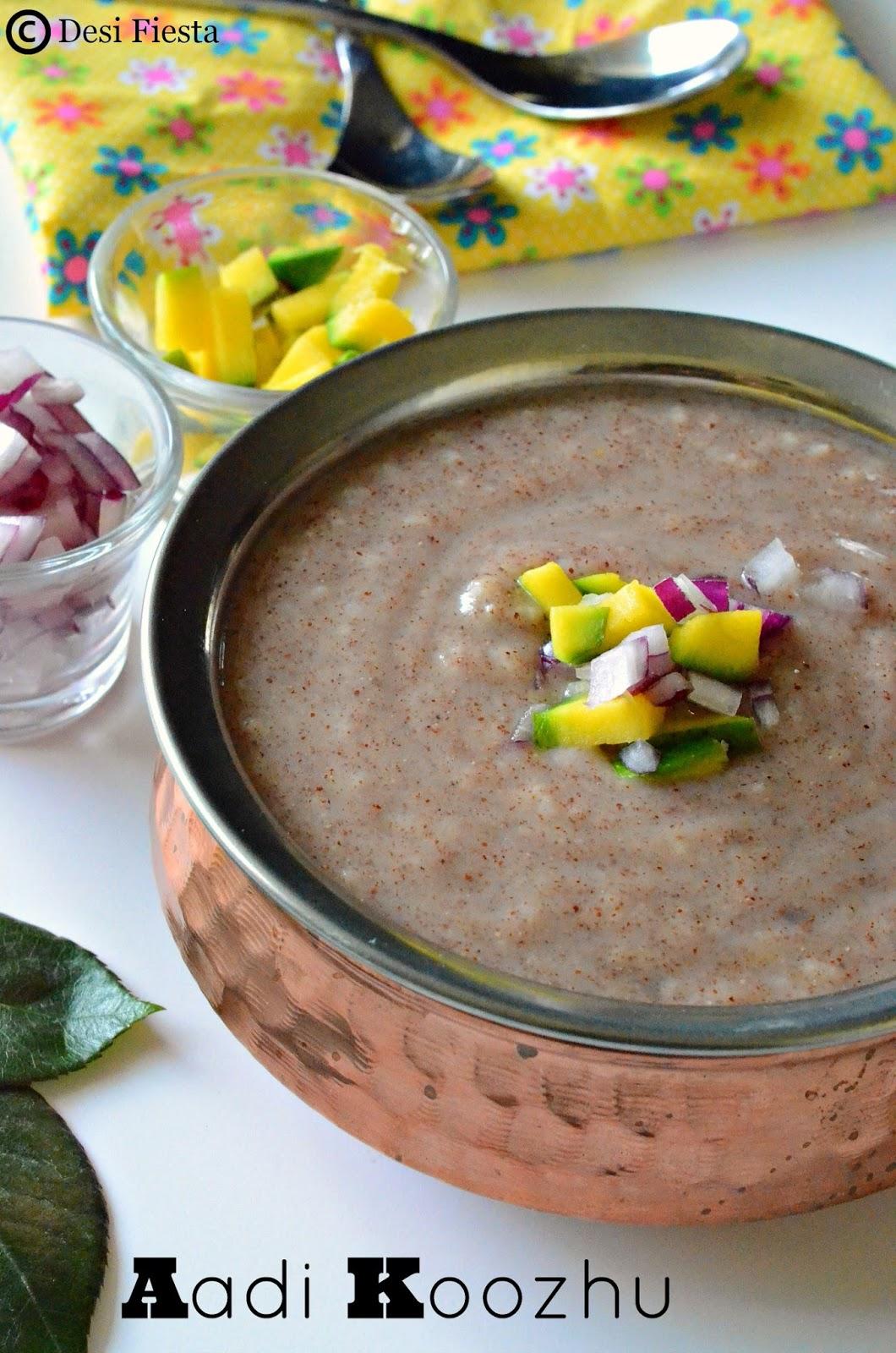 Tamilnadu Koozhu recipes
