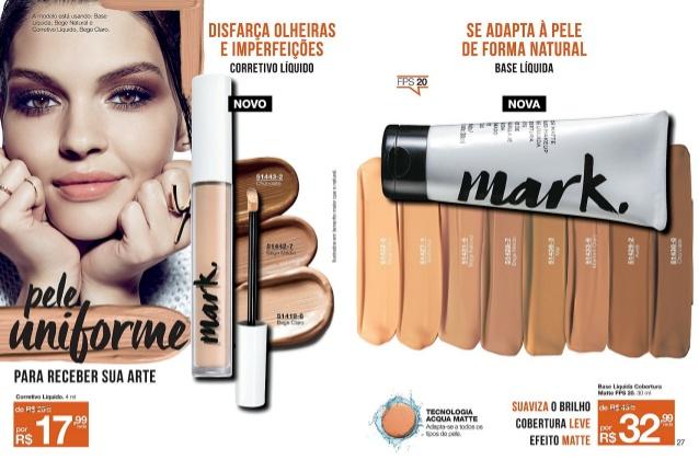 Mark- nova linha de maquiagem Avon
