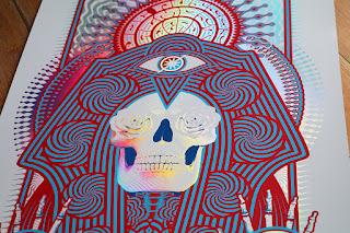 Adam Pobial JRAD San Diego Poster rainbow foil